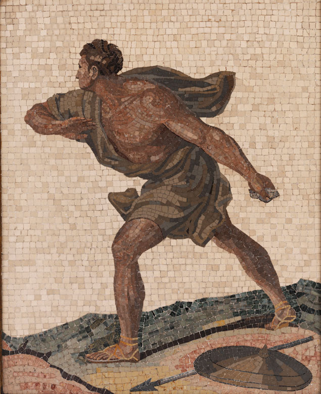 Römisches Mosaikbild