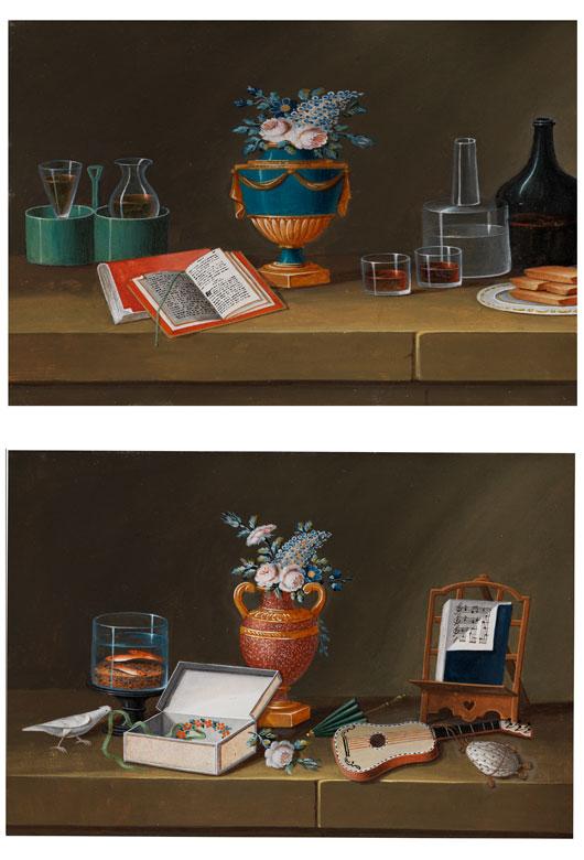Lelong, französischer Maler des Directoire, zug.