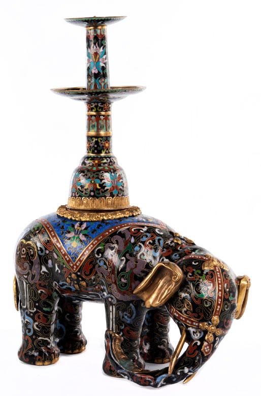 Cloisonné-Elefant
