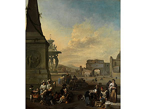 Johannes Lingelbach, 1622 Frankfurt a. M. – 1674 Amsterdam