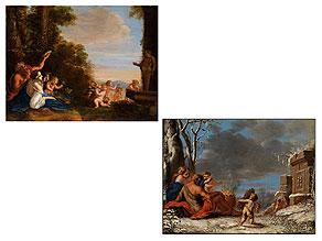 Italienischer Maler des ausgehenden 17. Jahrhunderts