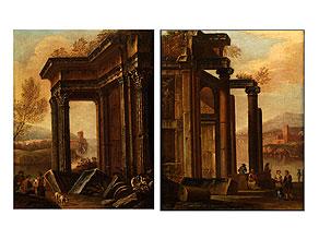Giovanni Paolo Pannini, 1691 Piacenza – 1765 Rom, Umkreis