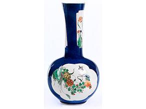 Seltene Porzellan-Vase
