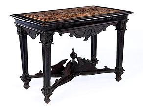 Tisch mit prächtiger Scagliola-Platte