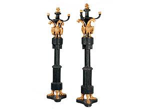 Paar imperiale Torchèren