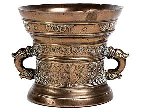 Bronzemörser