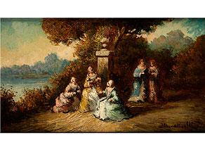 Adolphe Joseph Thomas Monticelli, 1824 Marseille – 1886 Paris