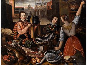 Italo-flämischer Maler des ausgehenden 16. Jahrhunderts unter dem Einfluss von Lucas van Valckenborch, 1535 - 1597 sowie Jean-Baptiste le Saive, der Ältere, 1540 - 1624 Mecheln