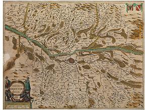 Landkarte von Johannes Jansonius