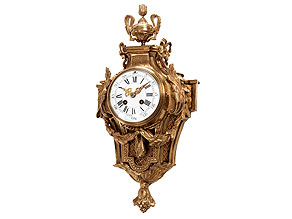 Kartelluhr im Louis XVI-Stil