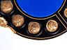Detail images:  Napoleon III-Guéridon mit Bronzemedaillons