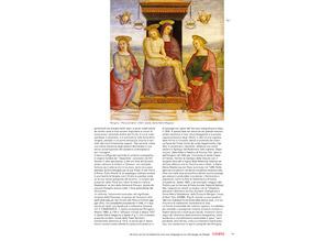 Detailabbildung:  Perugino , Pietro di Cristoforo Vannucci, um 1445/ 46 Cittá della Pieve / Provinz Perugia – 1523 Fontignano bei Perugia