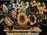 Detail images: Scagliola-Bildplatte mit Blumenstilleben