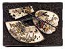 Detail images:  Seltener, äußerst fein gearbeiteter, japanischer Kodansu (Miniaturkabinettkasten der Meiji-Periode, 1868 - 1912)