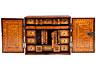 Detail images:  Intarsiertes Kabinettkästchen