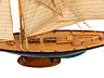 Detail images: Großes Modell eines Segelbootes