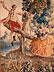 Detail images:  Bedeutender, äußerst dekorativer Aubusson aus dem Atelier von Pierre Dumonteil, 1732 - 1787, mit Rokoko-Darstellung eines Paares auf einer Schaukel im Park