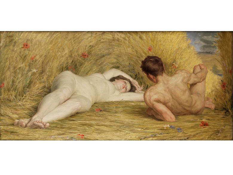 Auguste Leveque, 1864 Nivelles – 1921 St-Josse-ten-Noode