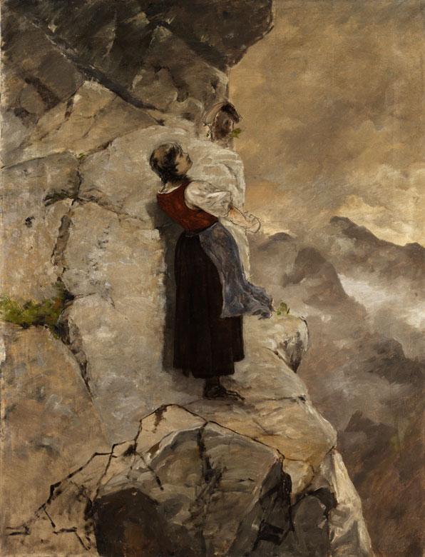 Mathias Schmid, 1835 See im Paznauner Tal – 1923 München