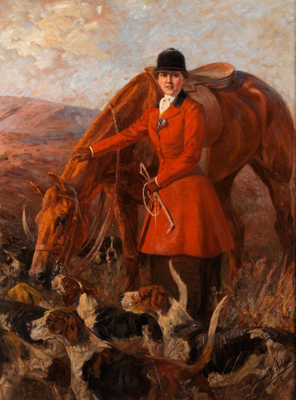 Richard Benno Adam, 1873 München – 1937 München Der Künstler war zwischen 1915 und 1918 im Ersten Weltkrieg als Kriegsmaler tätig.
