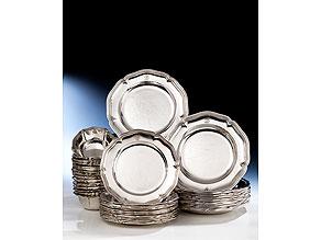 Großes Silberservice