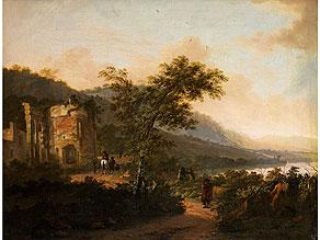 Adam Pynacker,  1622 – 1673, in der Art des