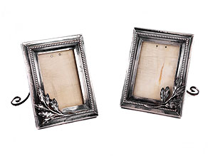 † Paar Fabergé-Bilderrahmen