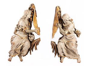 Zwei große Engel