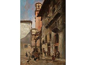 Vittorio Avanzi, 1850 Verona – 1913 Campofontana
