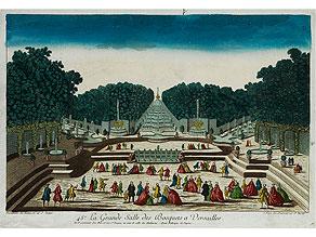 La Grande Salle des Bosquets à Versailles