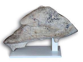Antike Marmorfigur eines Vogels