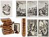 Detail images: † Eine Bibliothek mit 639 Büchern des 18. Jahrhunderts