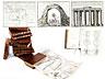 Detailabbildung: † Eine Bibliothek mit 639 Büchern des 18. Jahrhunderts