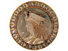 Detail images: Jugendstil-Relief-Tondo