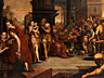 Detail images:  Frans Floris, 1516 Antwerpen – 1570, zug.