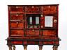 Detailabbildung: Kabinett-Möbel mit Schildpattfurnier