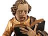 Detail images:  Vier geschnitzte Altarfiguren