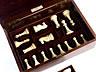 Detailabbildung:  Großes Elfenbein-Schachspiel