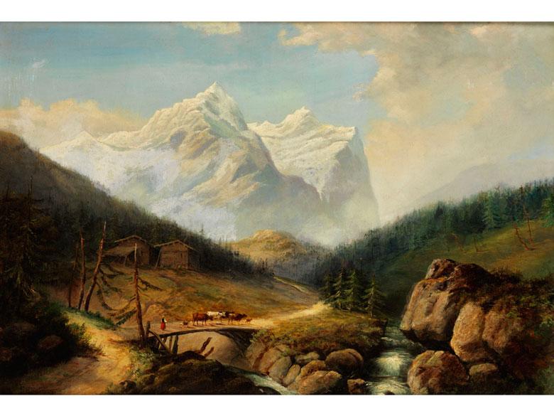 Franz Richard Unterberger, 1838 Innsbruck – 1902 Neuilly