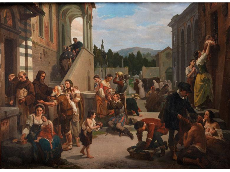 Nicola Sanesi, 1818 Florenz – 1889 ebenda