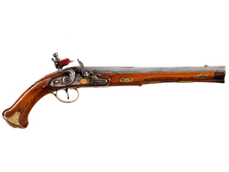 Steinschloss-Pistole