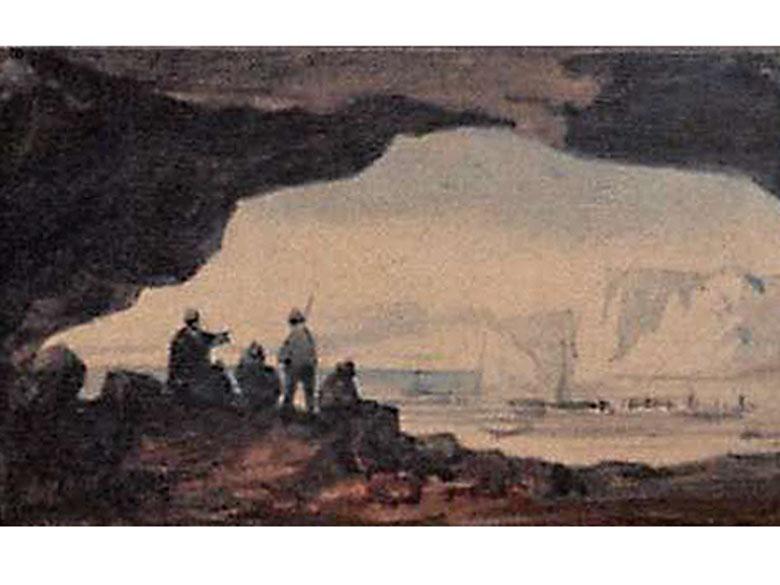 Caspar Johann Nepomuk Scheuren, 1810 Aachen - 1887 Düsseldorf, zug.