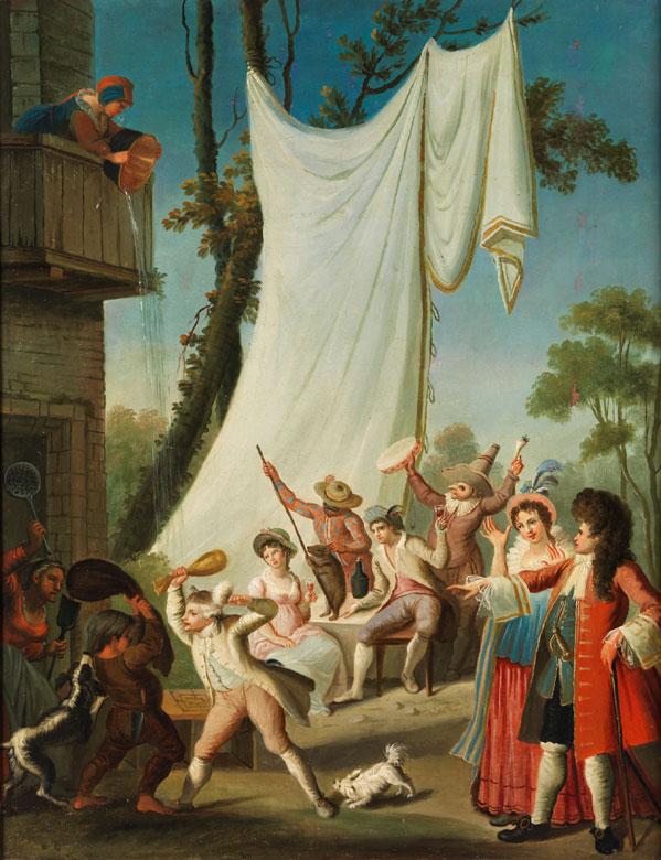 Italienischer Maler des ausgehenden 18. Jahrhunderts