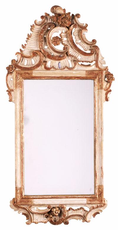 Kleiner Rokoko-Spiegel