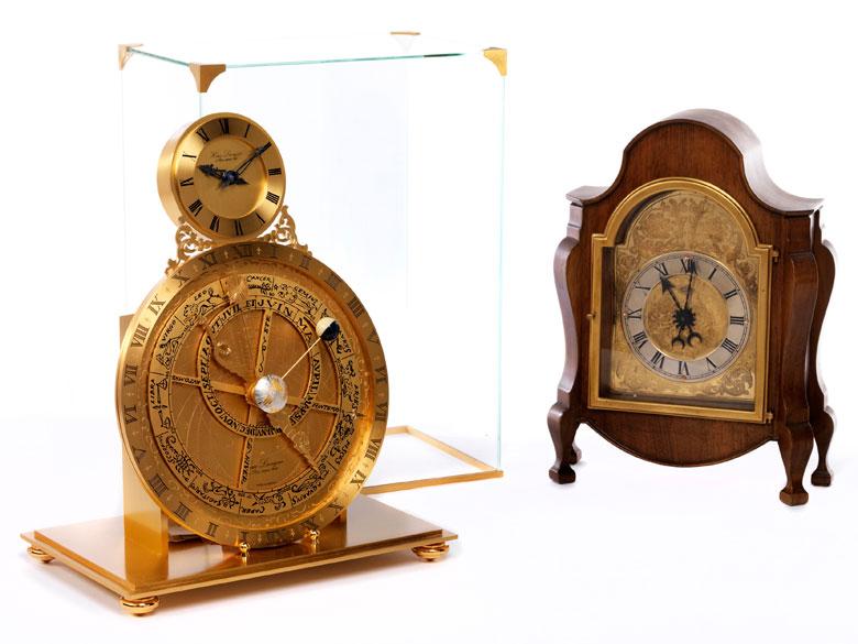 Zwei Uhren