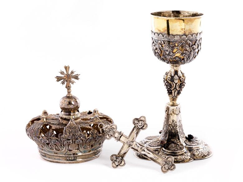 Konvolut von drei Silberobjekten
