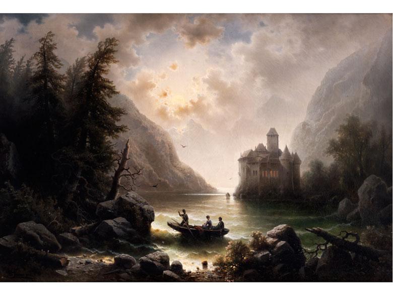 Albert Rieger, 1834 Triest – 1905 Wien