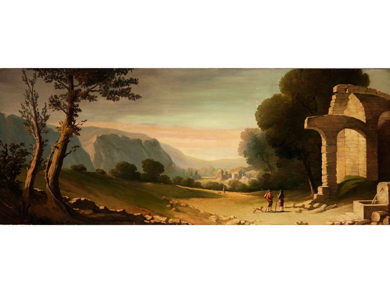 Französischer Maler des 19. Jahrhunderts im Stil des 18. Jahrhunderts