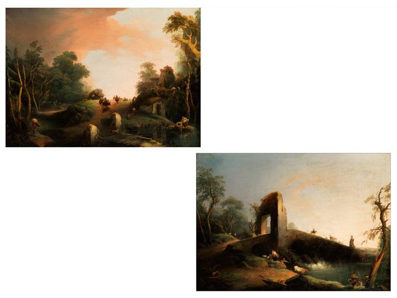 Giuseppe Bernardino Bison, 1762 Palmanova – 1844 Mailand, zug.