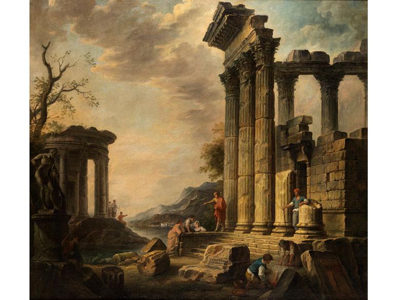 Giovanni Nicolas Servandoni, 1695 Florenz – 1766 Paris, zug.